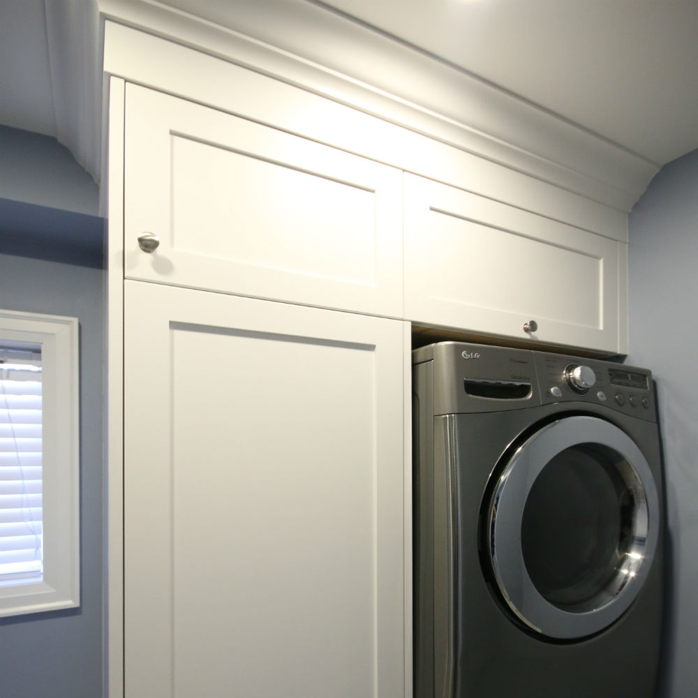 Laundry room renovations remodel contractor burlington for Laundry room renovation
