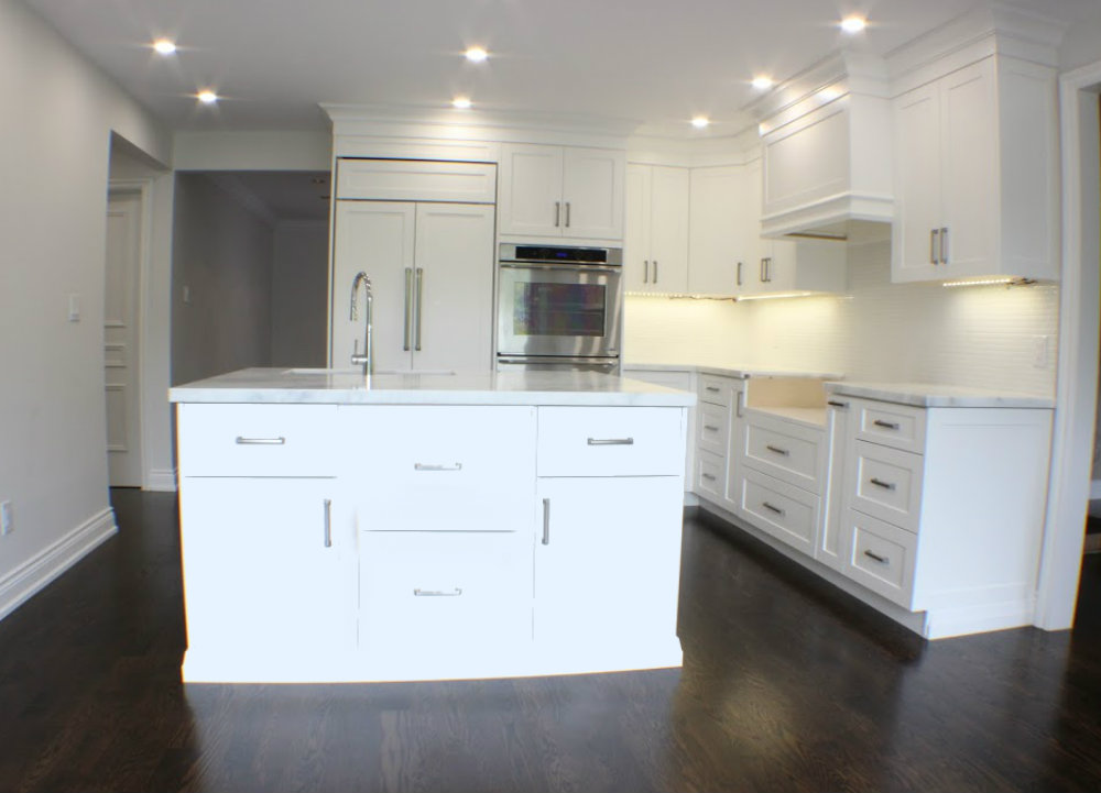 Toronto Kitchen Island Reno