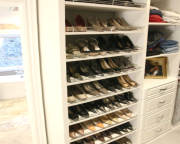 Shoe Closet Display
