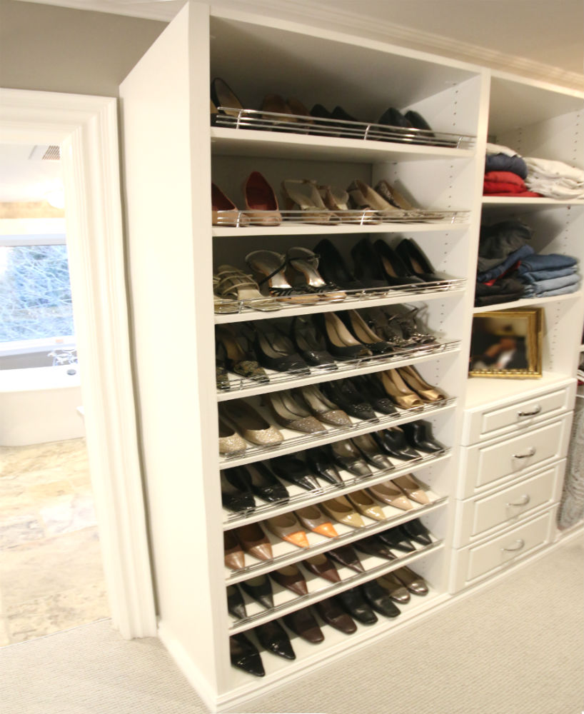 Shoe Closet Display