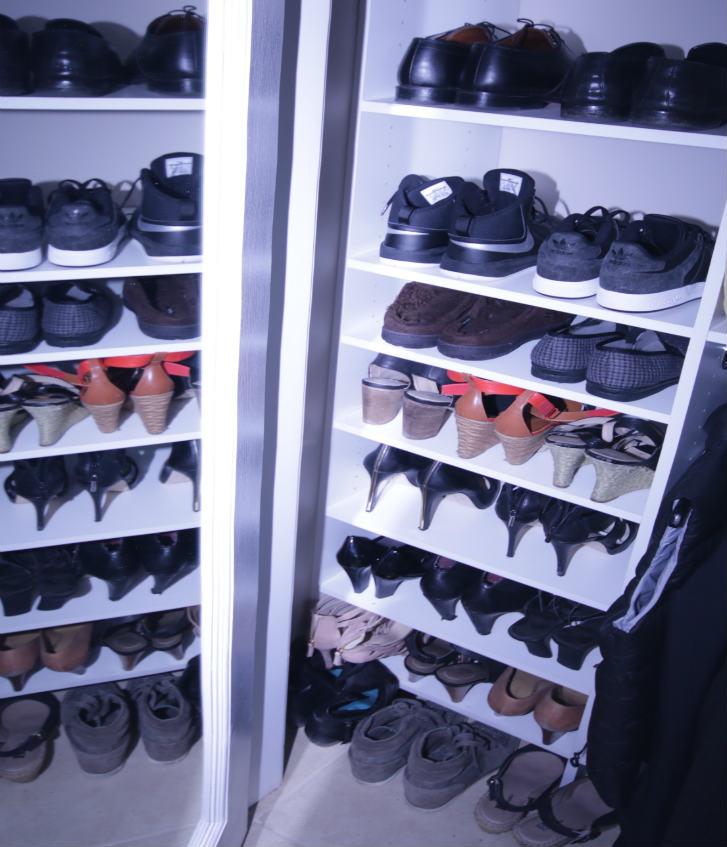 Toronto Shoe Closet Shelves