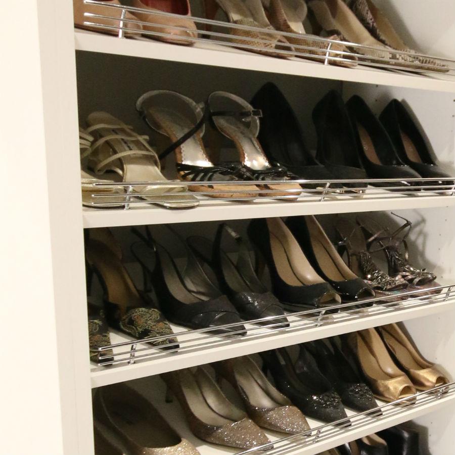 Closet Shoe Fences