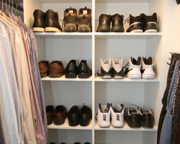 Mens Shoe Display System