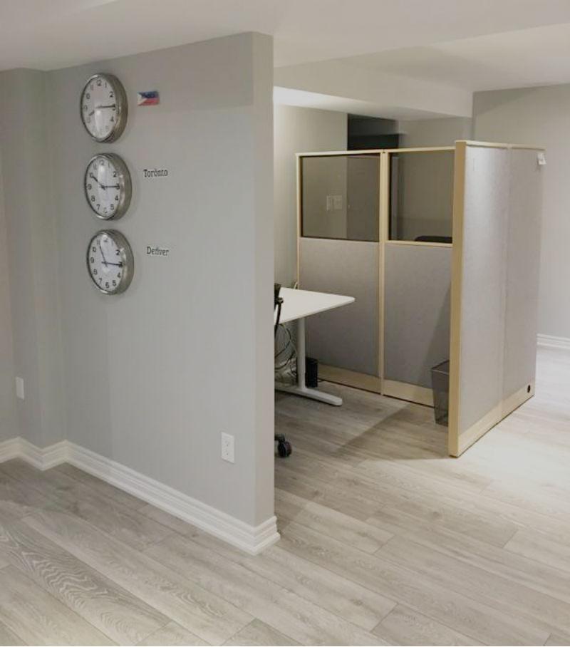 Toronto basement renovation for Basement concepts