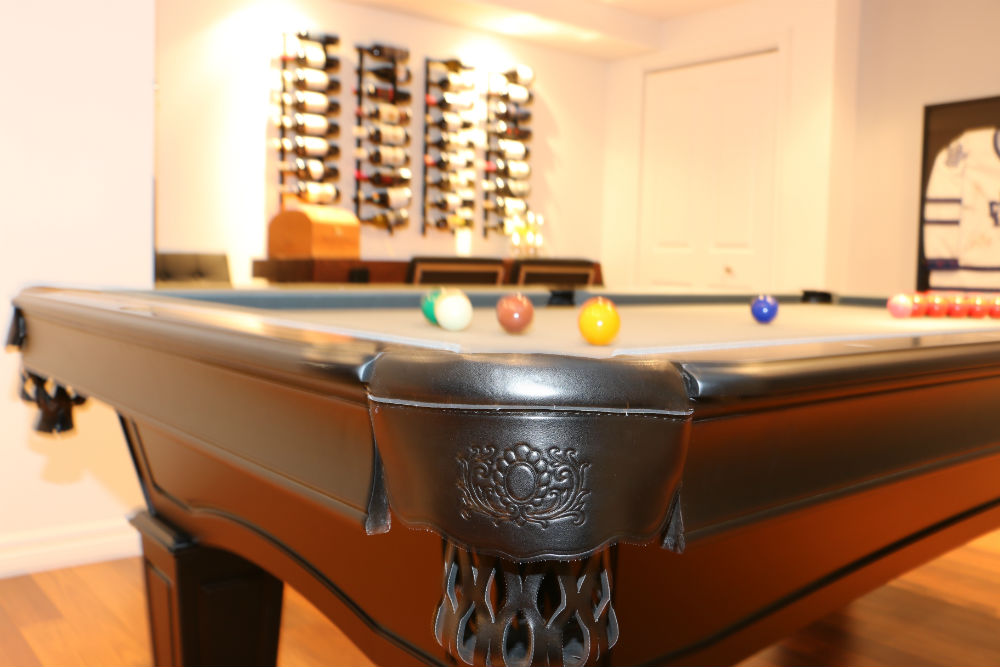 Basement Toronto Pool Table