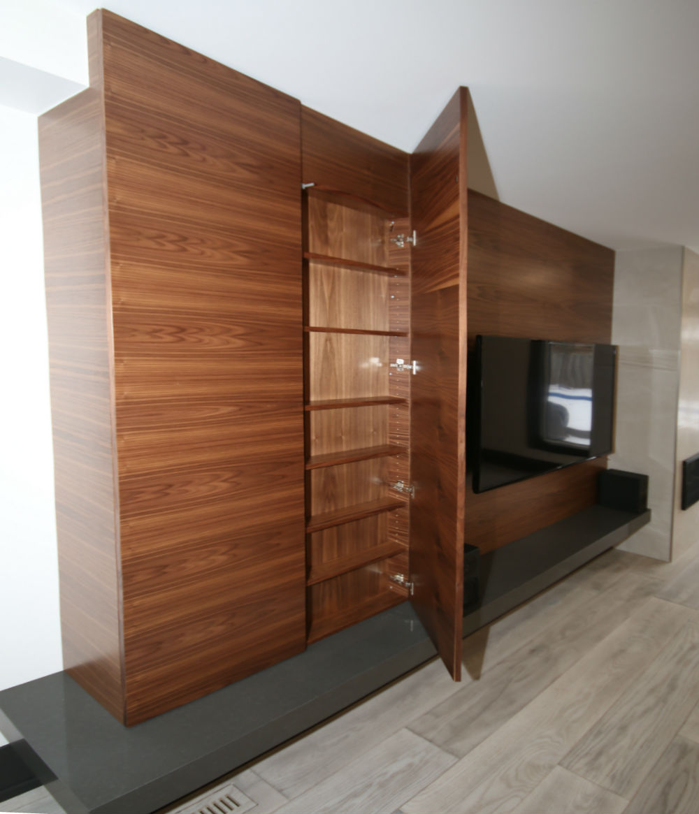 Oakville Modern Wall Units