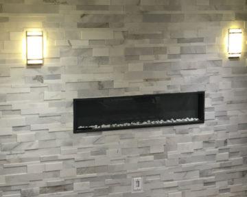 Oakville Stone Fireplace