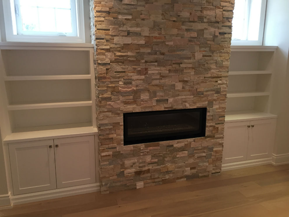 Toronto Basement Fireplace Builtin Companies