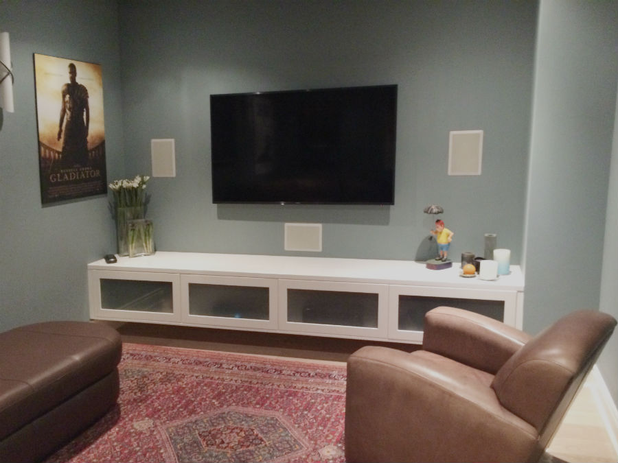 Toronto Modern Cabinetry TV