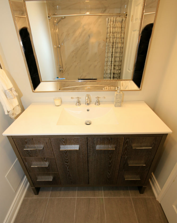 Oakville Condo Bathroom Renos