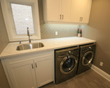 toronto laundry room makeover, laundry room renovation home contractor