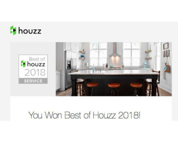 Houzz Toronto Custom Concepts 2018 Award