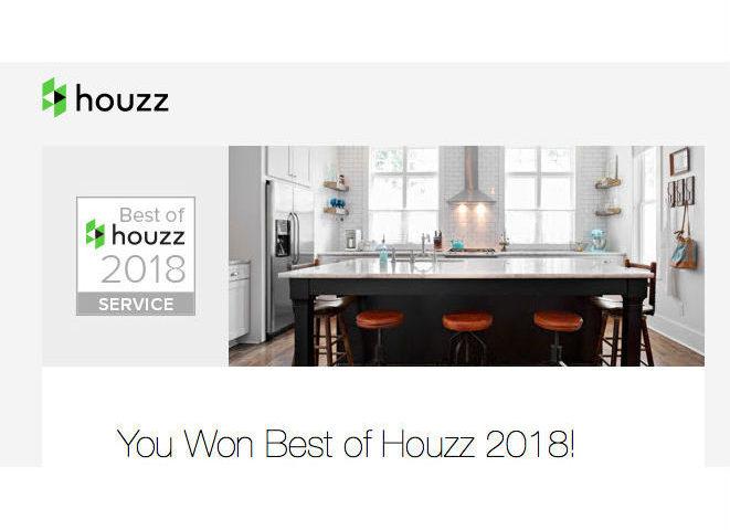 Houzz Toronto Custom Concepts 2018 Award