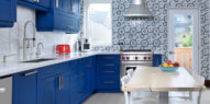 Toronto Blue Kitchen Cabinetry