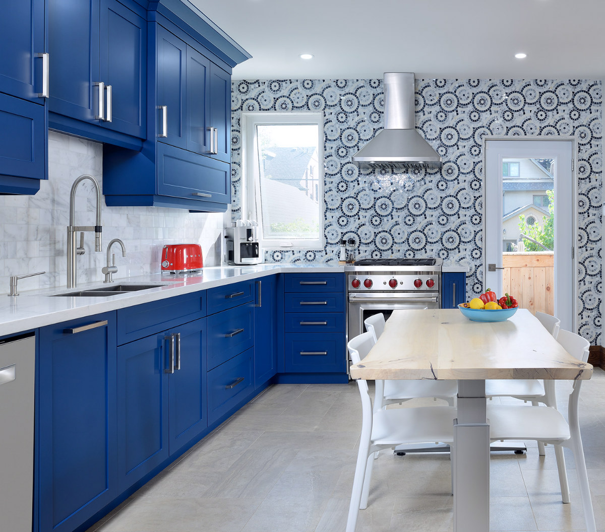 Toronto Blue Kitchen Cabinetry