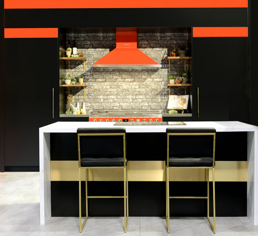 Toronto Custom Concepts Red Kitchen