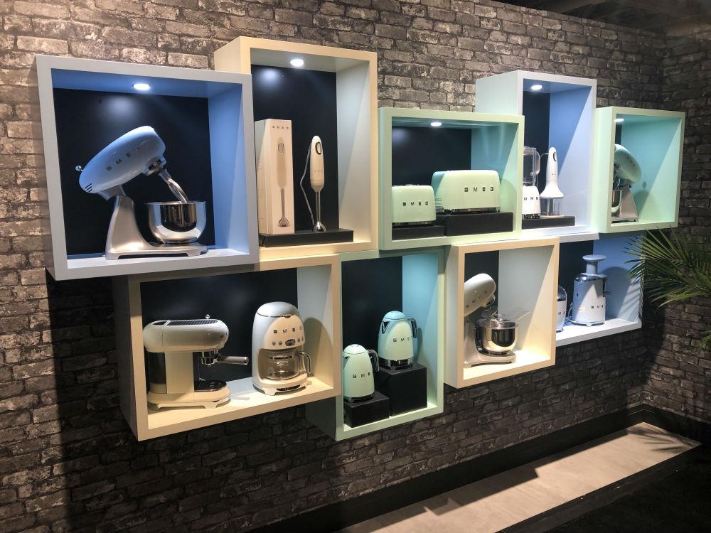 Toronto Custom Concepts SMEG Display