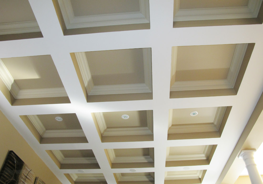 Burlington Coffered Ceiling